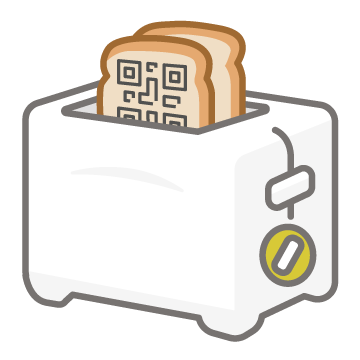 QR Toaster